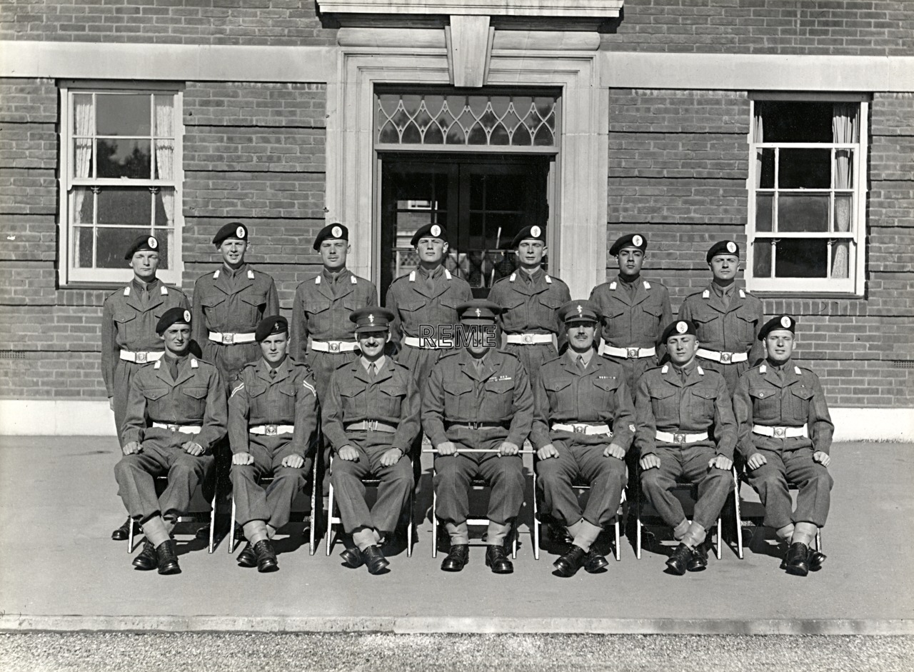 Officer Cadet Company, REME, Bordon: Intake No 18/19, August 1955