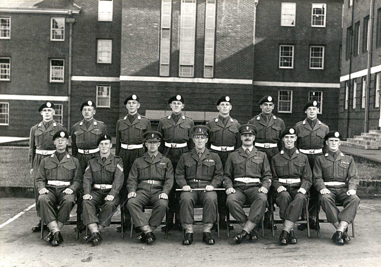Officer Cadet Company, REME, Bordon: Intake No 20, September 1955