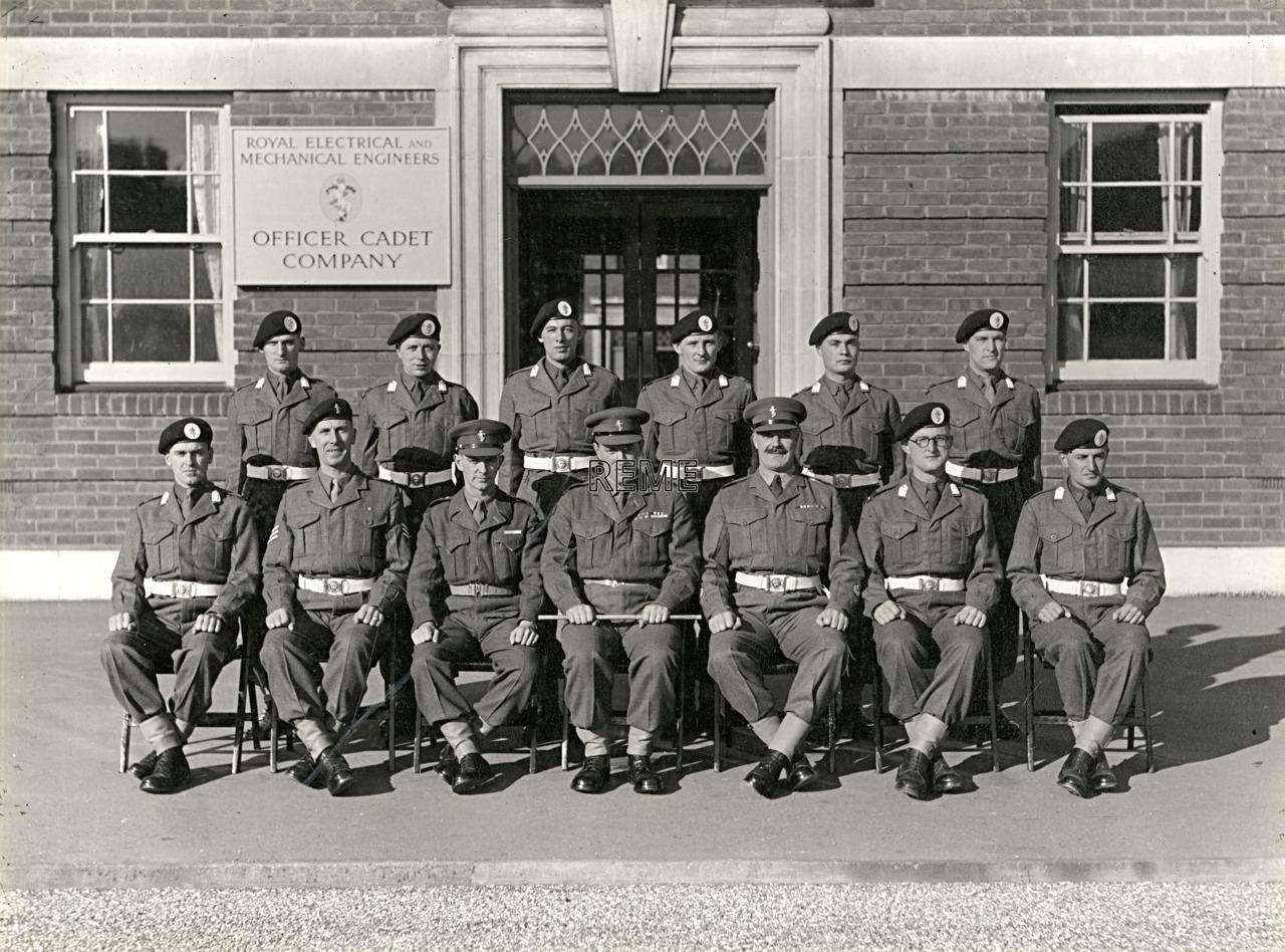 Officer Cadet Company, REME, Bordon: Intake No 23, October 1955