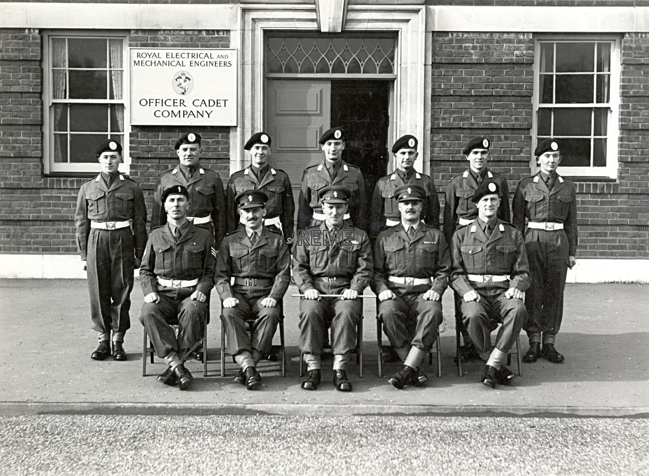 Officer Cadet Company, REME, Bordon: Intake No 26/27, December 1955