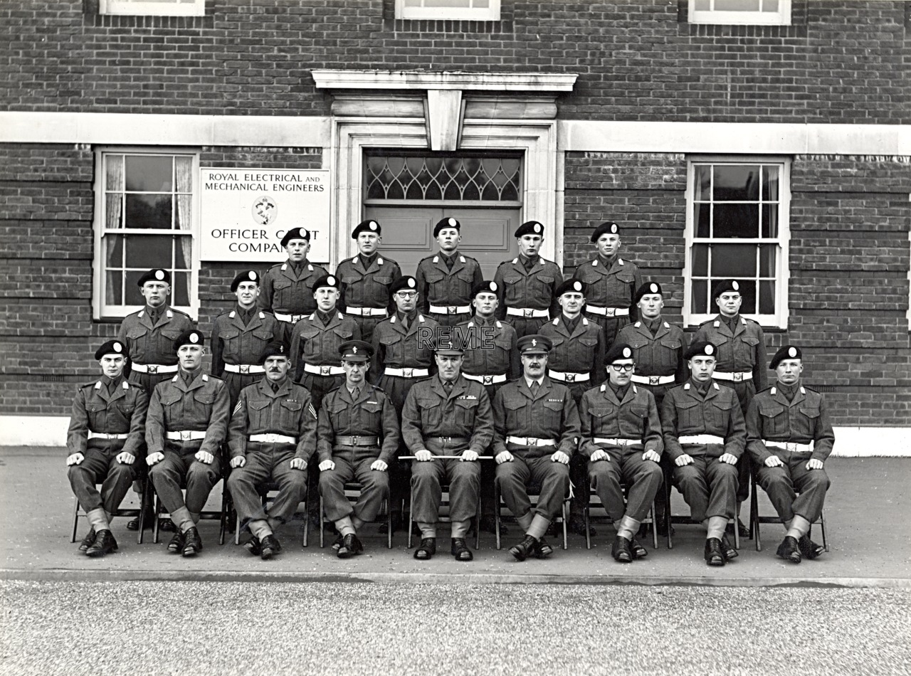 Officer Cadet Company, REME, Bordon: Intake No 28, January 1956