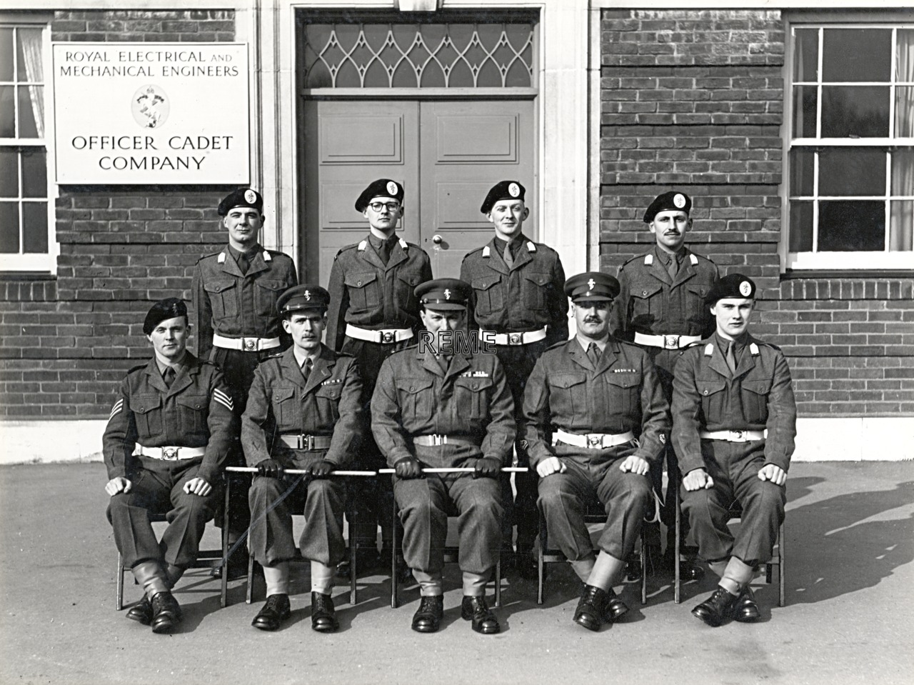 Officer Cadet Company, REME, Bordon: Intake No 29, January 1956