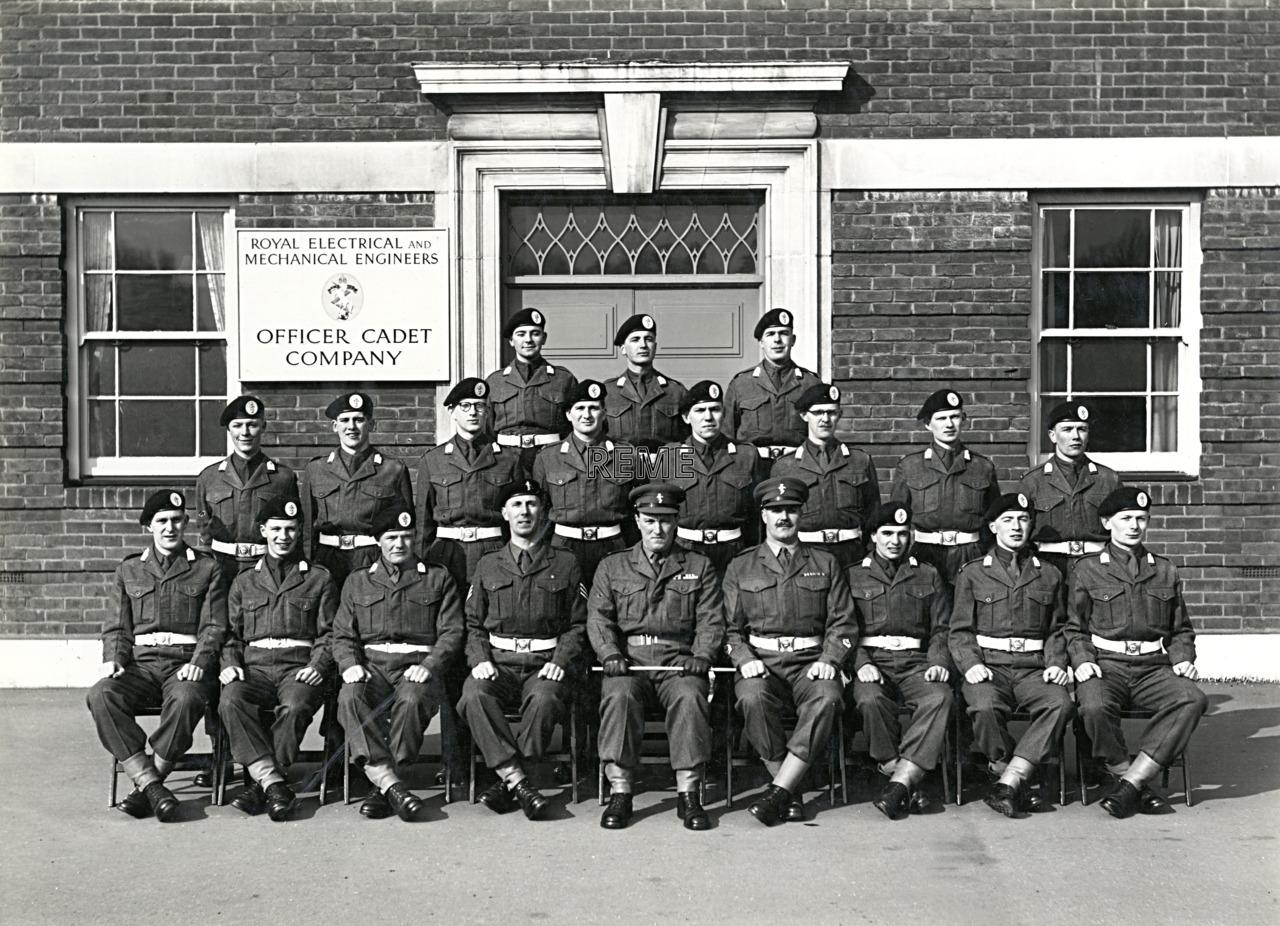 Officer Cadet Company, REME, Bordon: Intake No 30, February 1956