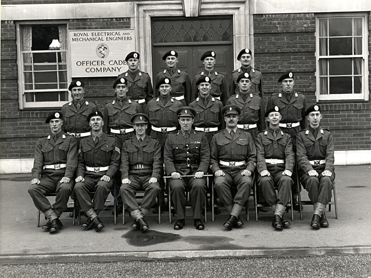 Officer Cadet Company, REME, Bordon: Intake No 31, February 1956