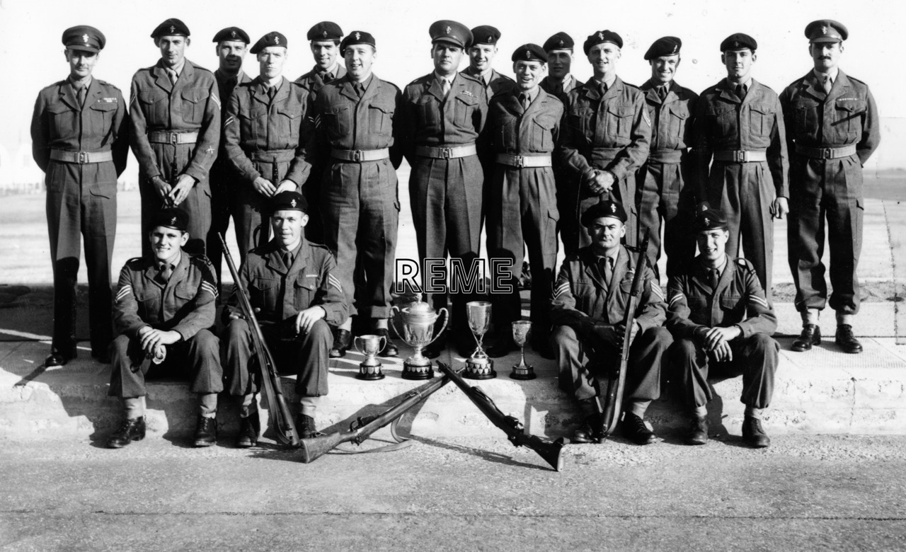 'The Shooting Teams', Garrison Workshop, Gibraltar 1957