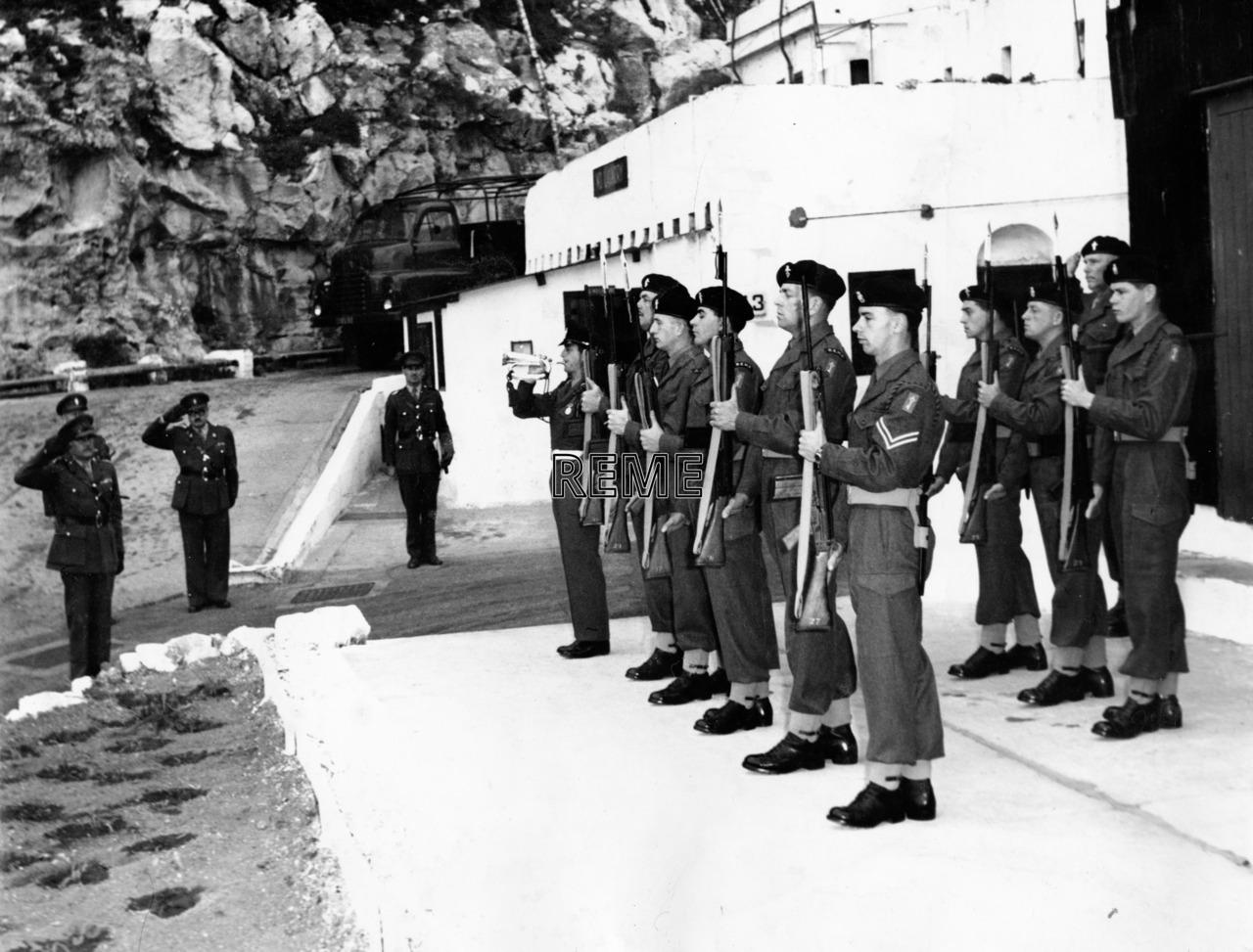 Garrison Workshop, Gibraltar: Administrative Inspection,17 February 1961
