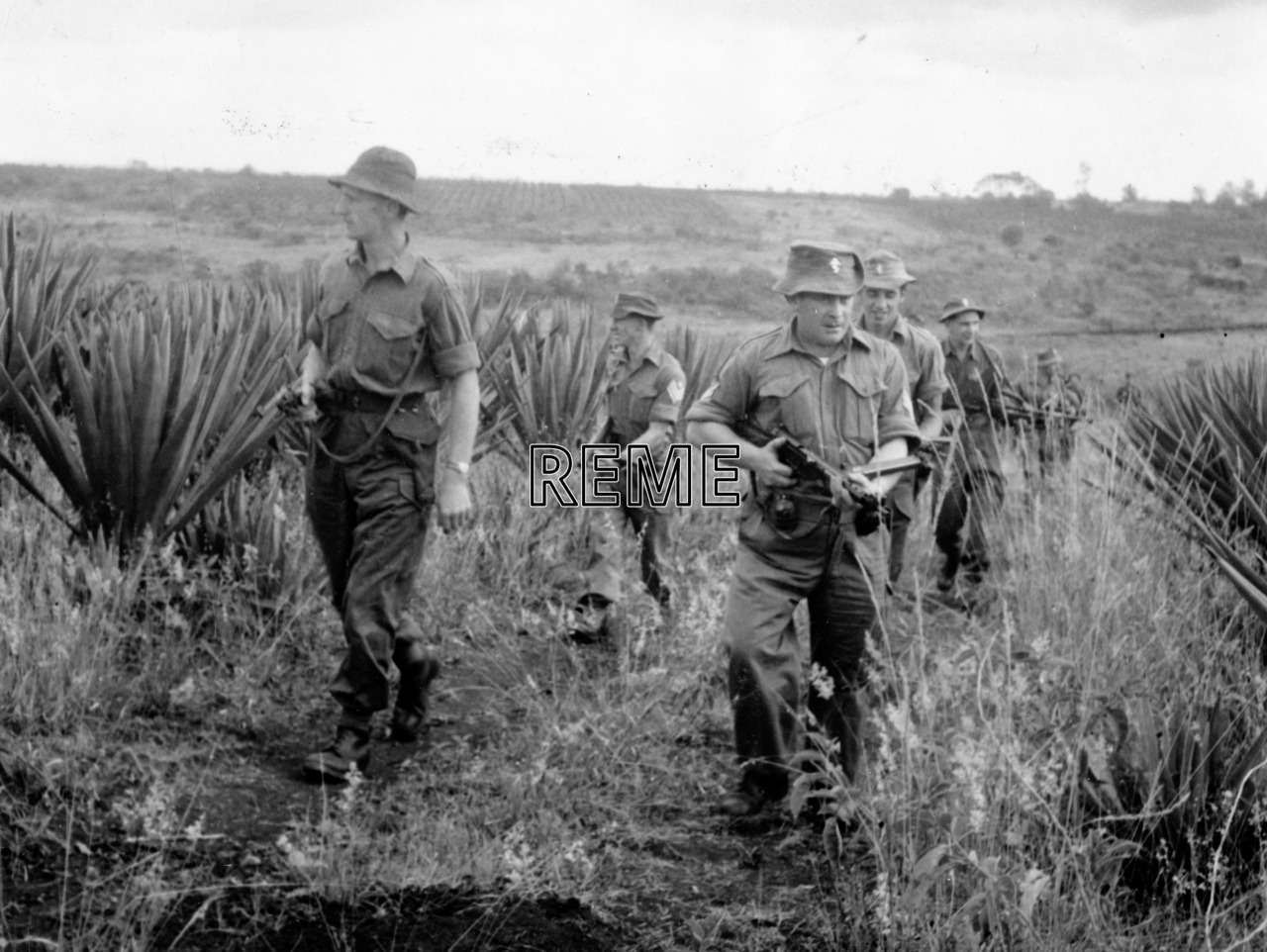 7 Infantry Workshop in Kenya