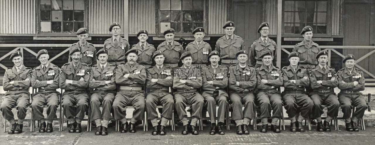HQ REME 16 Airborne Division, Territorial Army (TA), Annual Camp at Lydd, Kent, 1953.