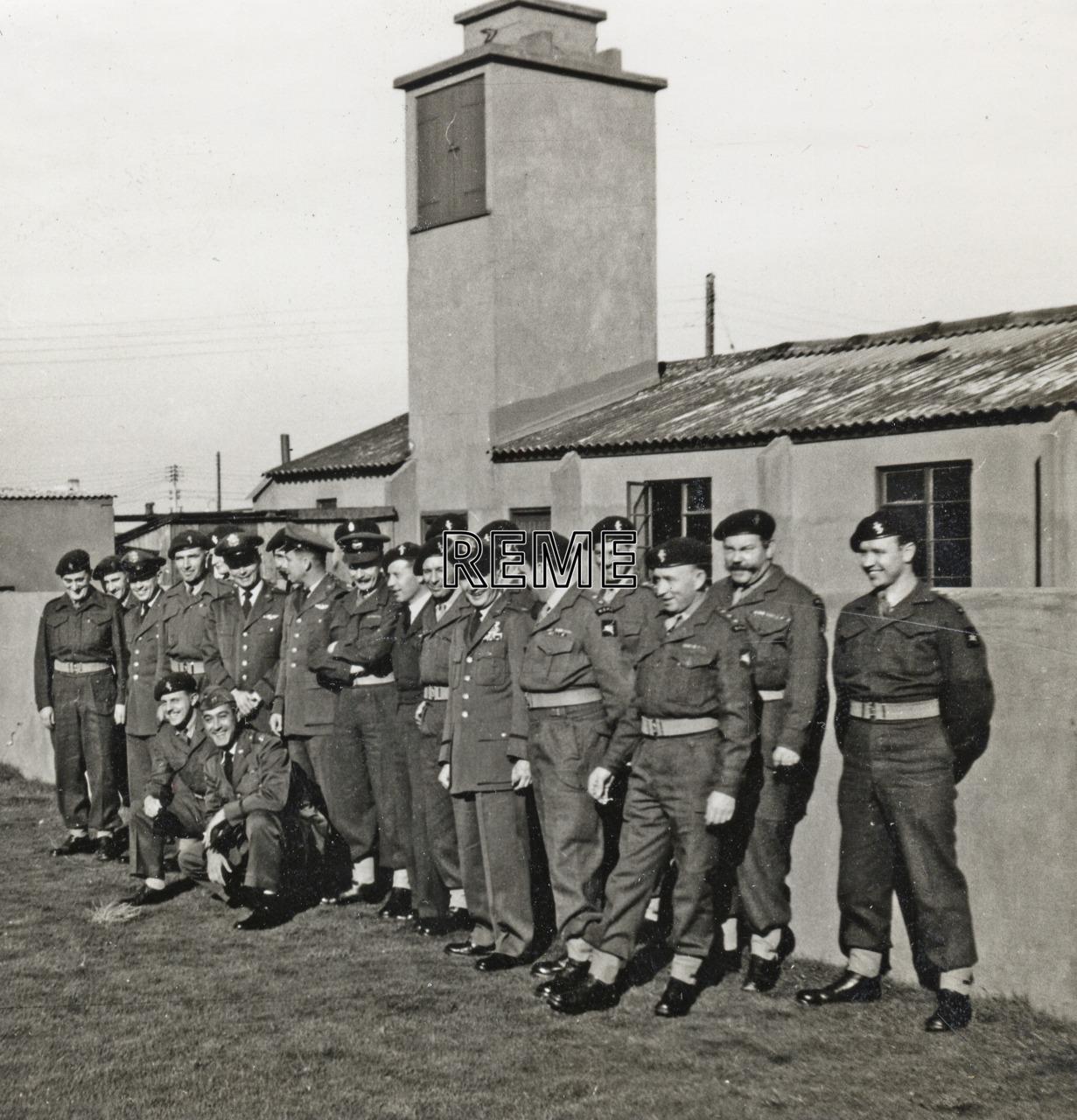 16 Airborne Division REME, Exercise 'Burton Jumper', 1955.