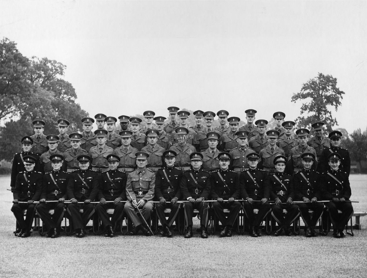 Junior Leaders' Unit, REME: Permanent Staff, 1960
