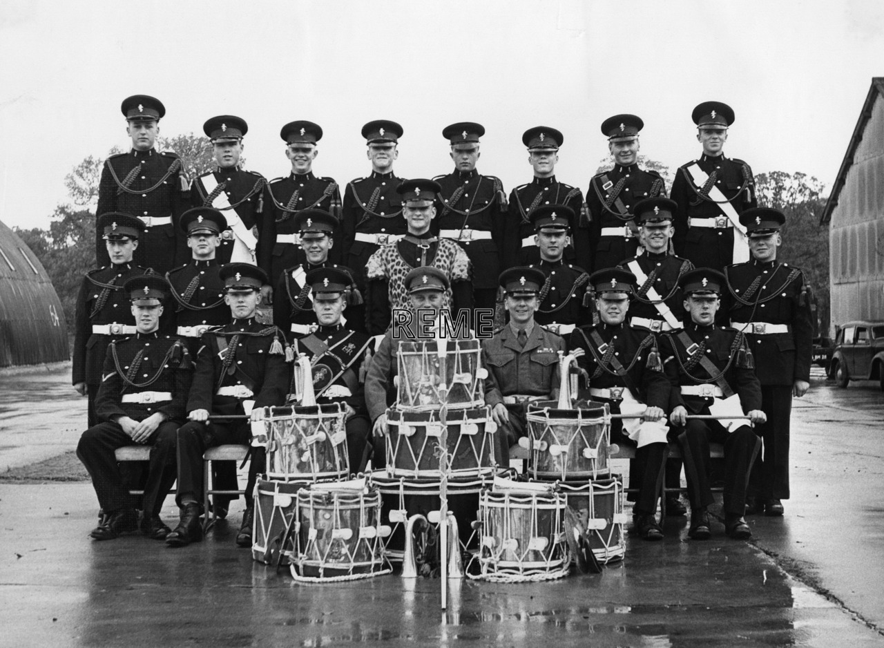 Junior Leaders' Unit, REME: Corps of Drums