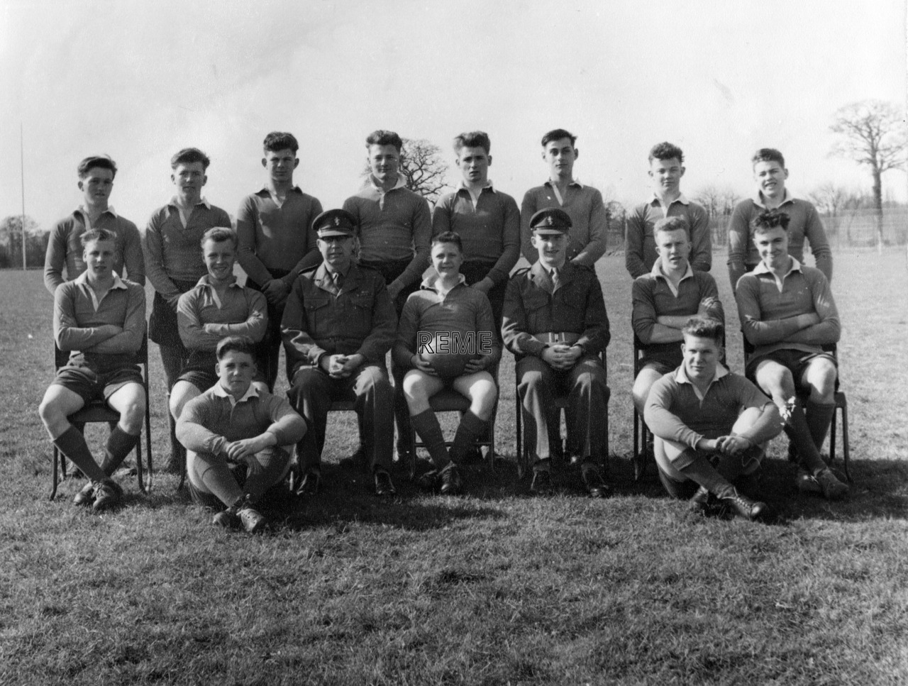 Junior Leaders' Unit REME: Rugby Union XV, 1960 – 1961