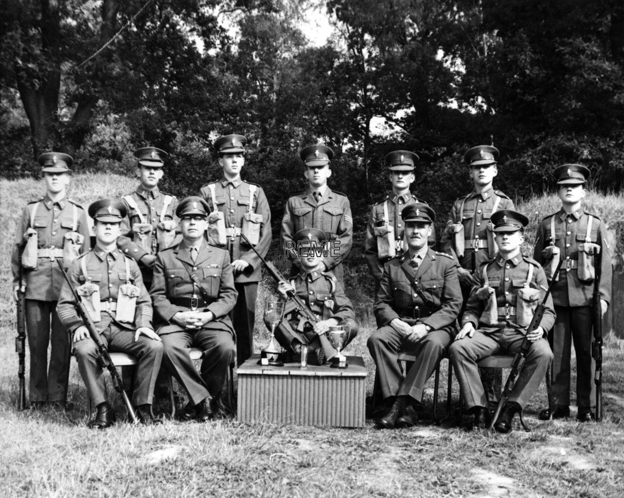 Junior Leaders' Unit REME: Shooting Team 1961