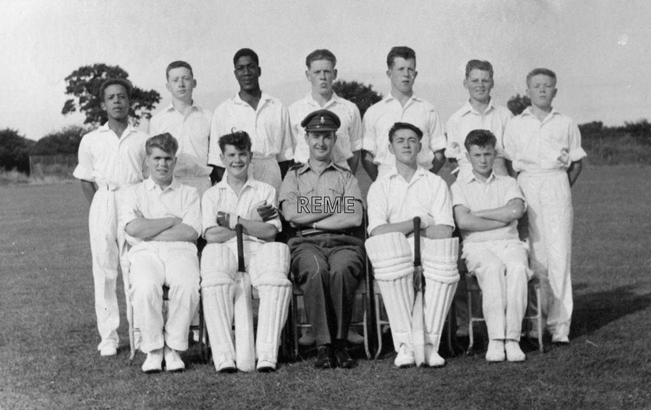 Junior Leaders' Unit REME: Cricket XI 1961