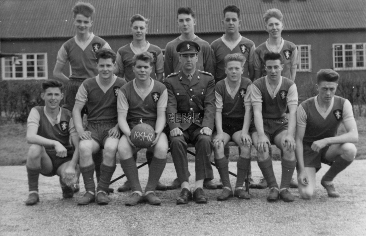 Junior Leaders' Unit REME: Association Football XI 1961 – 1962