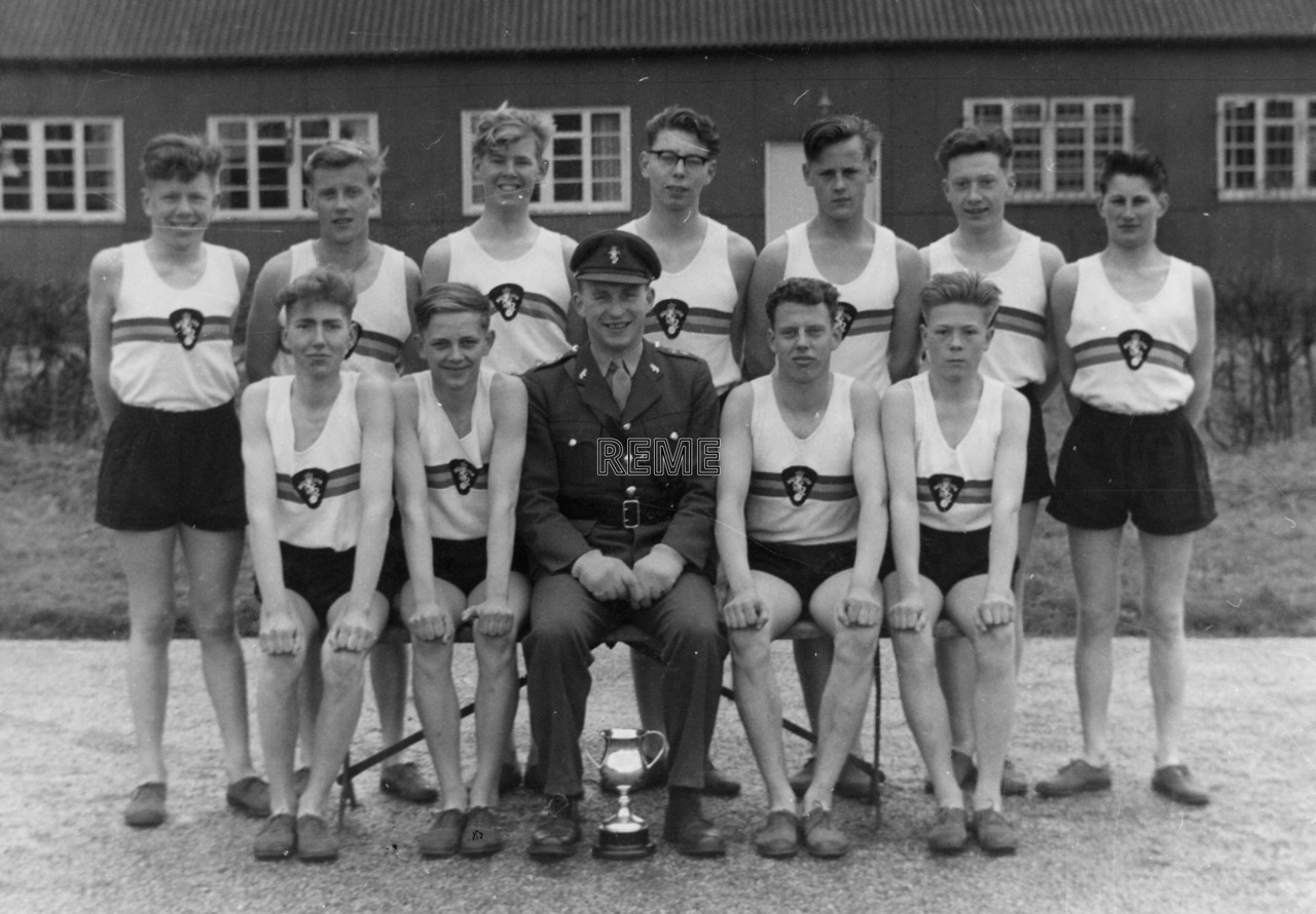 Junior Leaders' Unit REME: Cross Country Team 1962