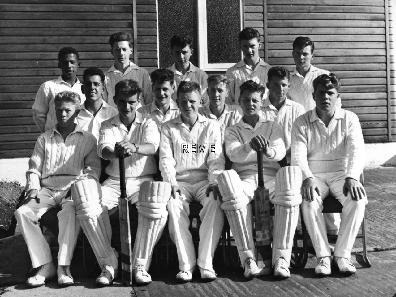 Junior Leaders' Unit, REME: Cricket XI Summer Term 1962