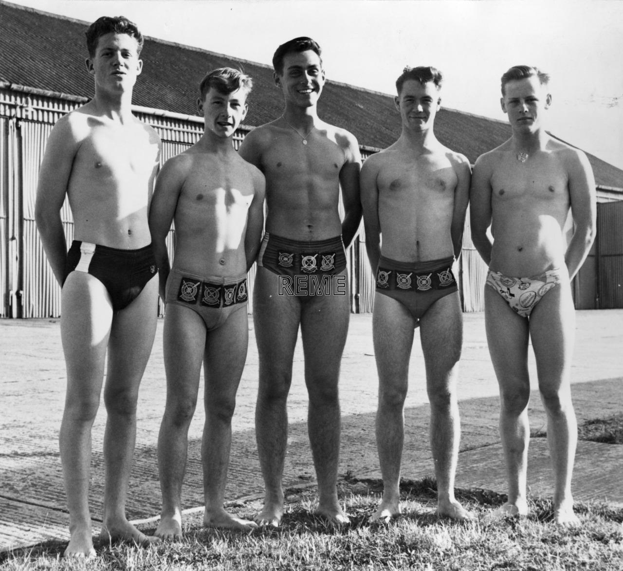 Junior Leaders' Unit, REME: Swimming Team Summer Term 1962