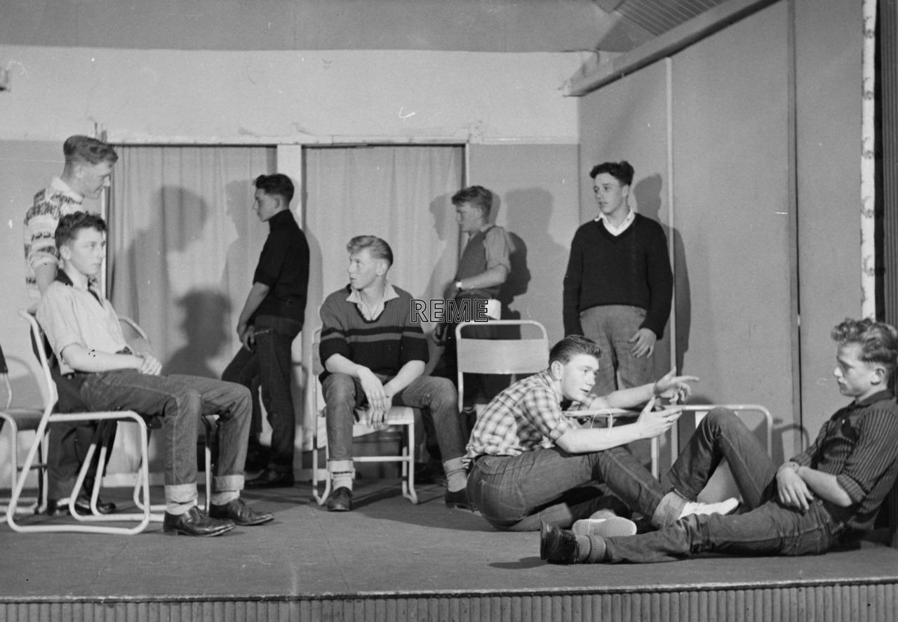 Junior Leaders' Unit, REME: Drama Group, Summer Term, 1962