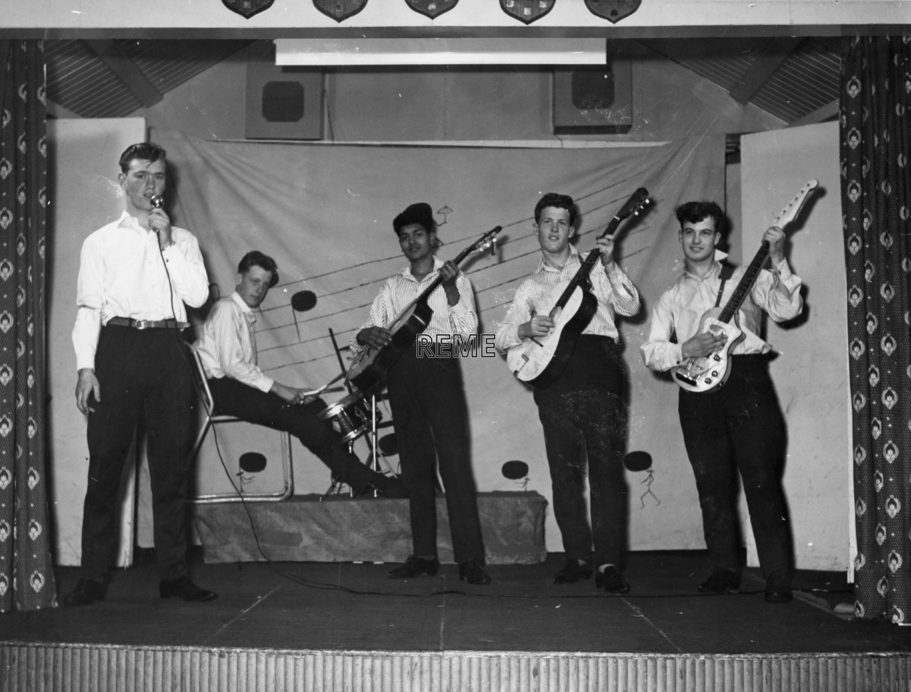 Junior Leaders' Unit, REME: Concert Party 1963
