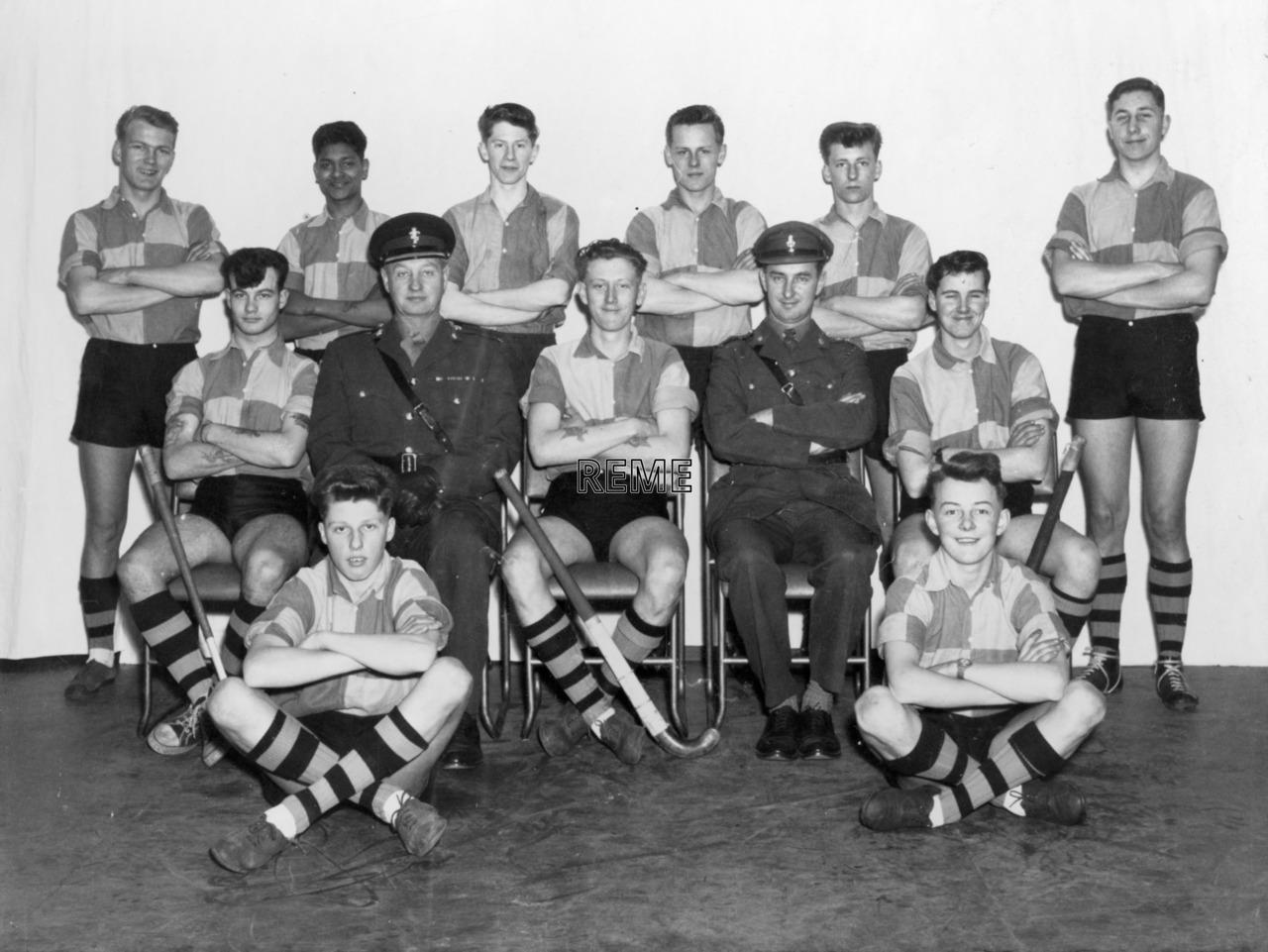 Junior Leaders' Unit, REME: Hockey Team 1964