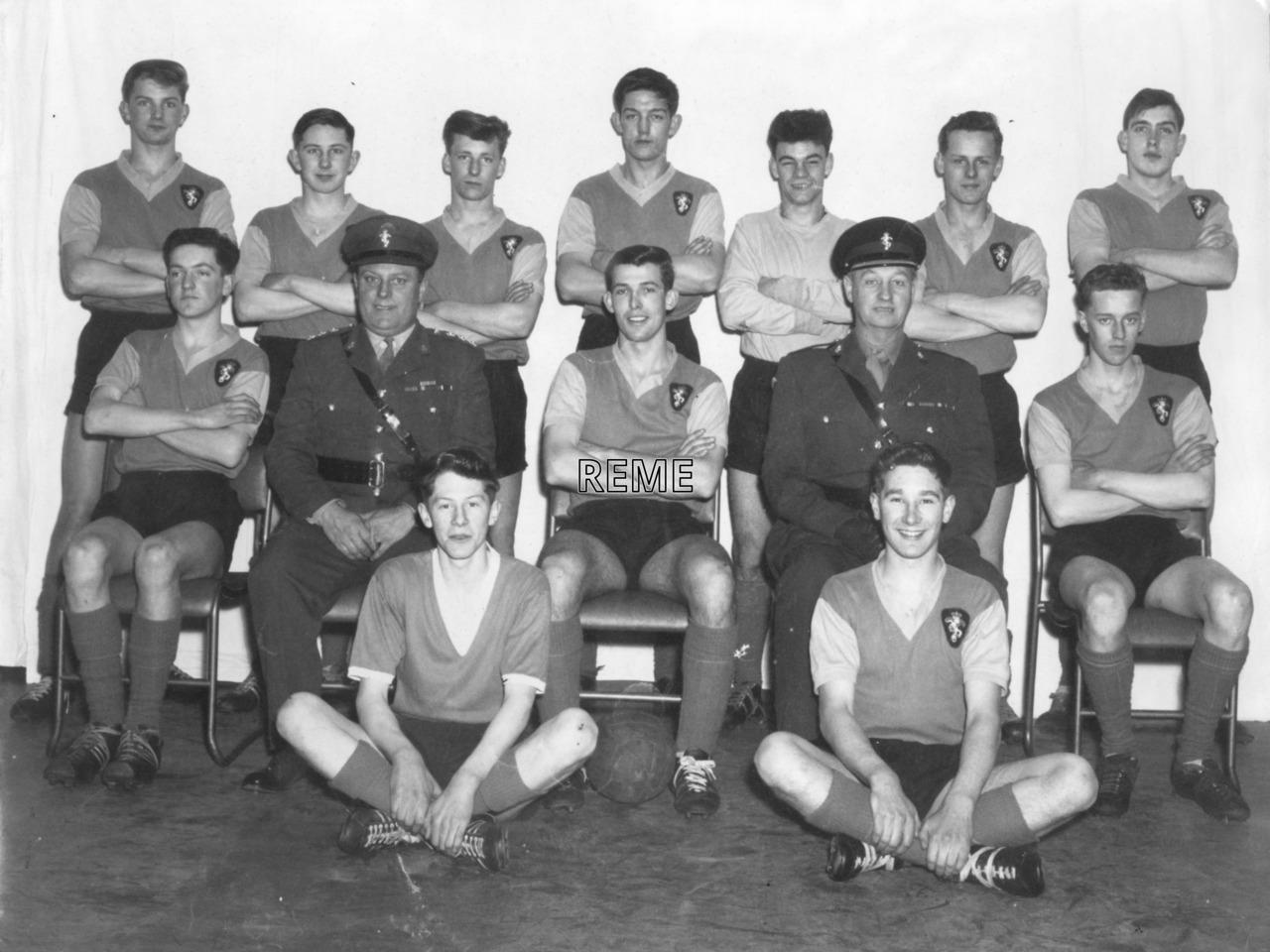 Junior Leaders' Unit, REME: Football Team 1964