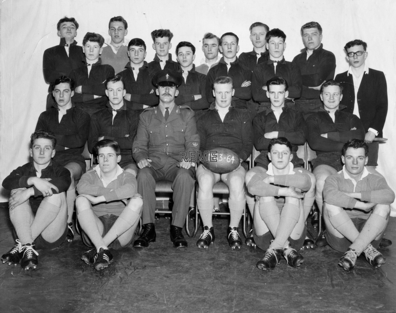Junior Leaders' Unit, REME: Rugby Team January 1964