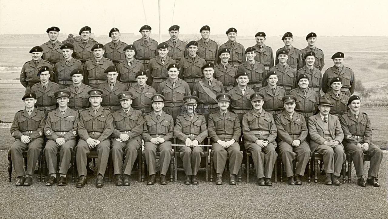 Headquarters Training Brigade REME, January 1956