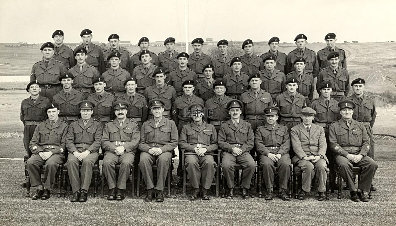 Headquarters Training Brigade REME, February 1957