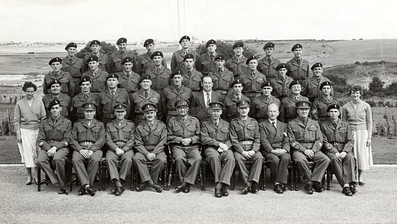 Headquarters Training Brigade REME, October 1958
