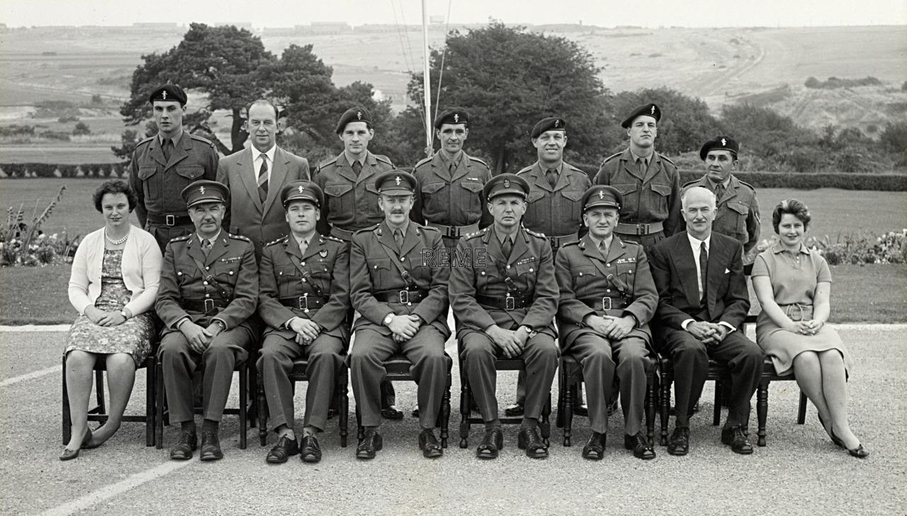 Headquarters Training Brigade REME, September 1961