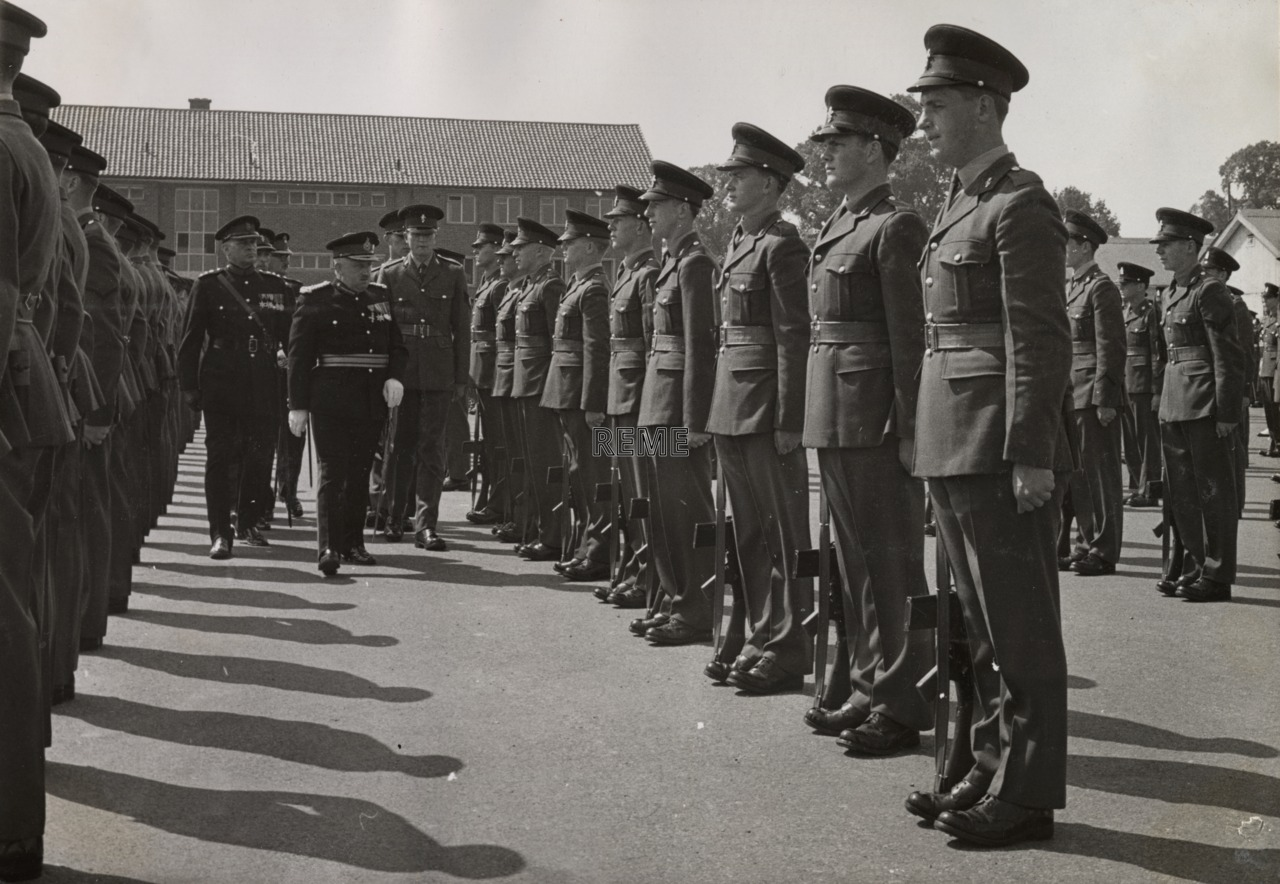 Army Apprentices School, Arborfield Passing Out Parade, July 1963