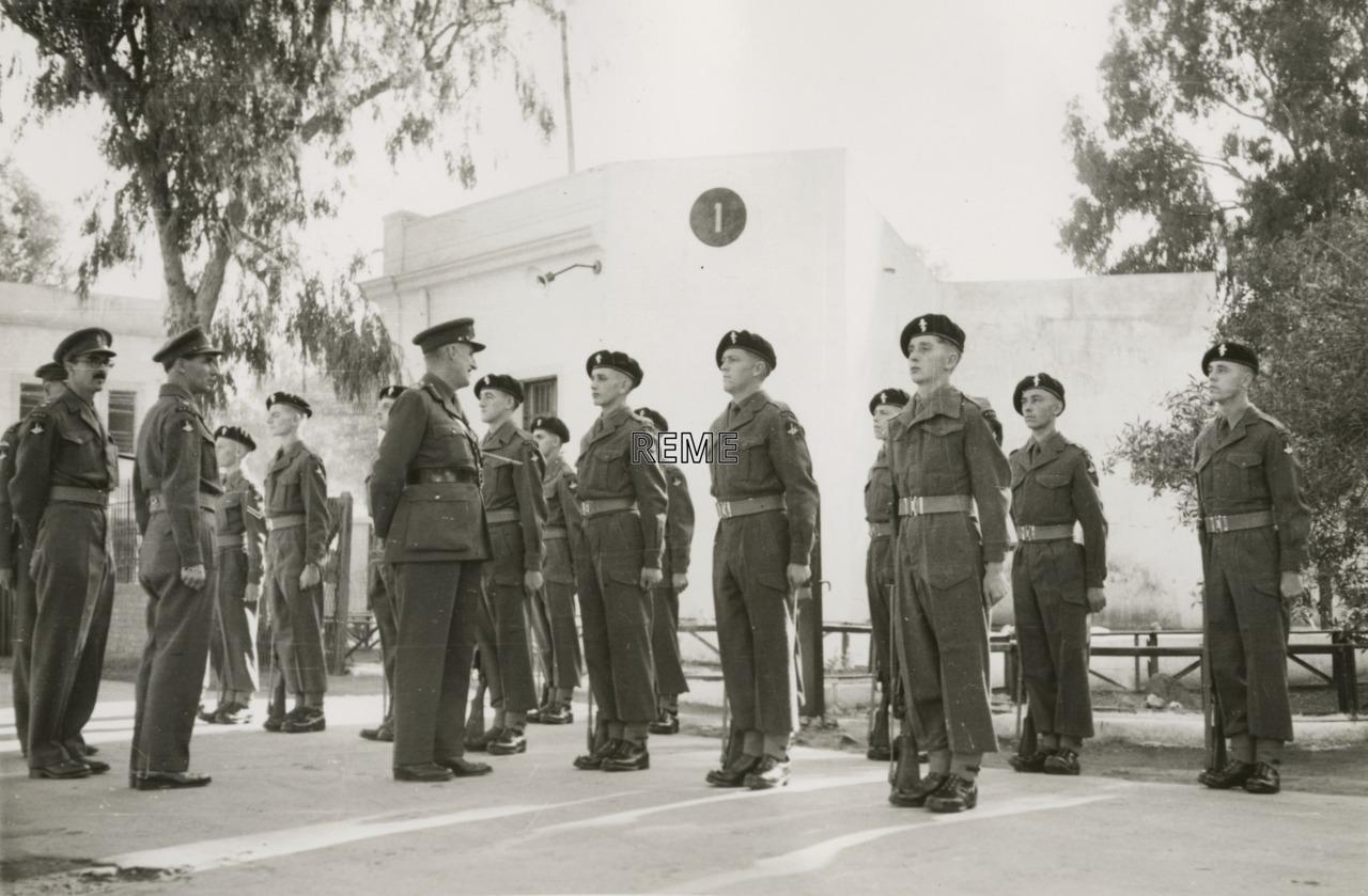 3 Command Workshop REME, Benghazi 1950-1951