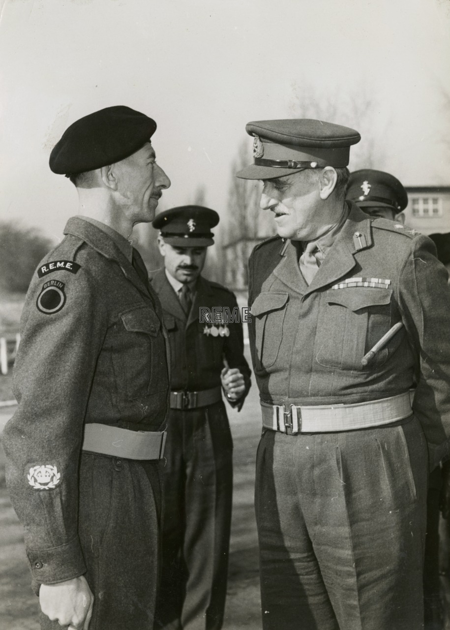 Visit by Major General W A Lord, CB, CBE to Berlin Workshop, 9 March 1957.