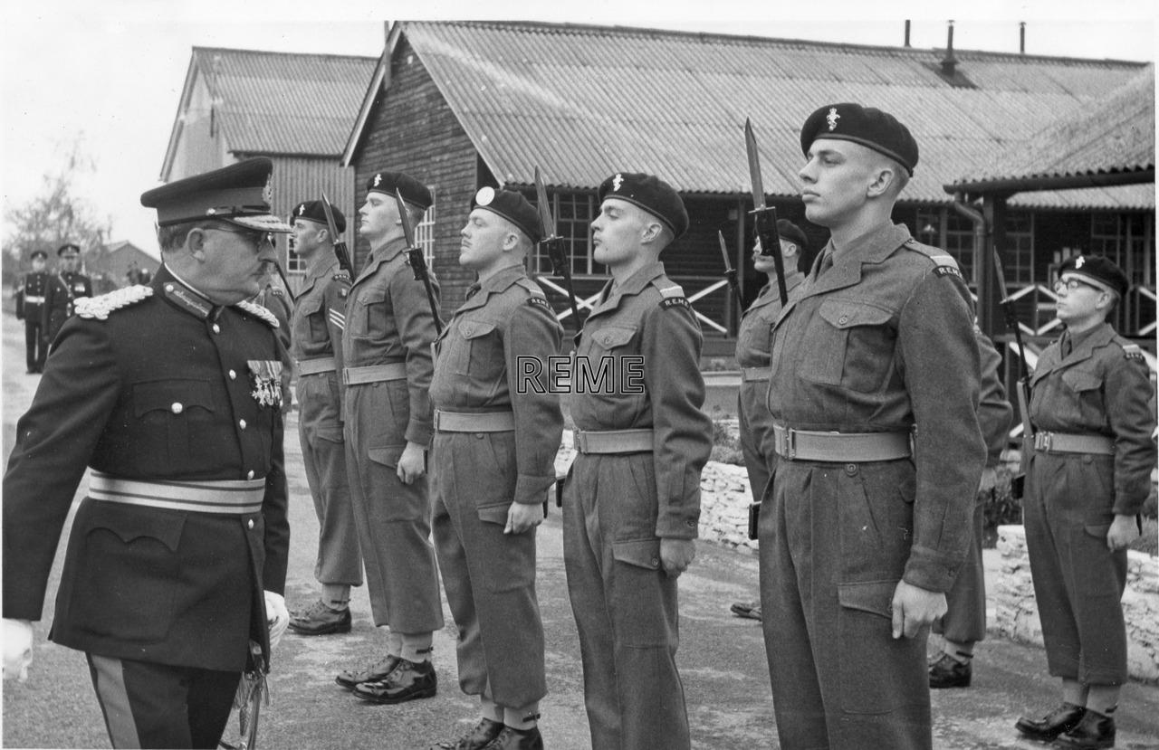 1 Training Battalion's Farewell Celebrations, October 1960