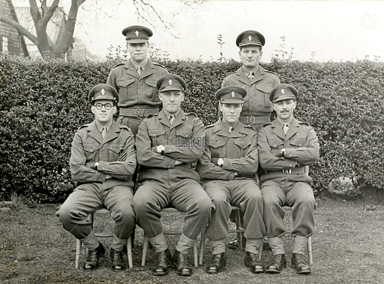 No 7 Regular Young Officers' Course, REME Officers' School.