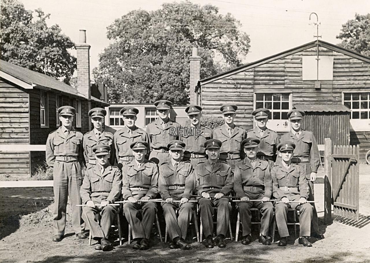 No 8 Regular Young Officers' Course, REME Officers' School.