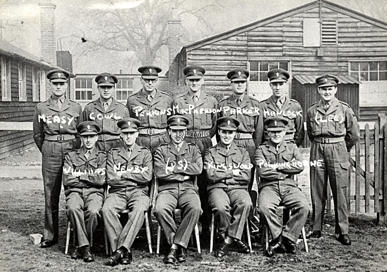 No 11 Regular Young Officers' Course, REME Officers' School