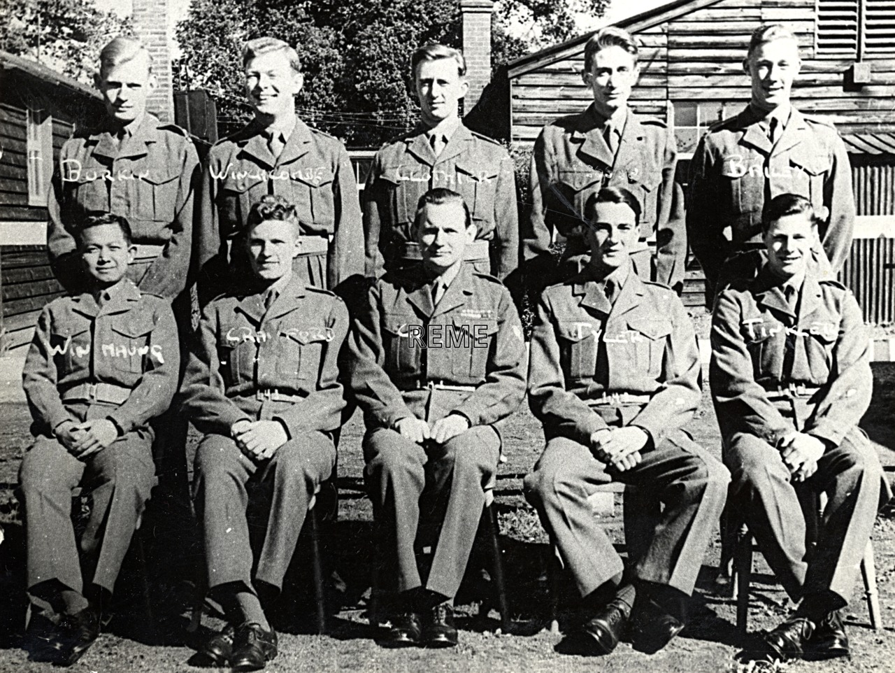 No 14 Regular Young Officers' Course, REME Officers' School, 1954