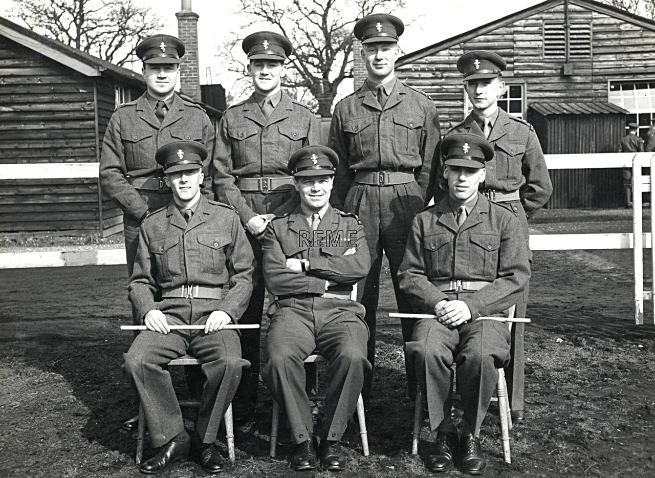 No 15 Regular Young Officers' Course, REME Officers' School, 1955
