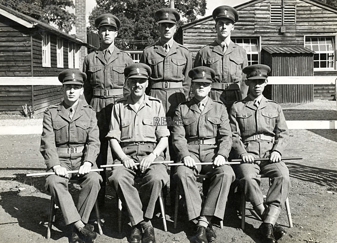 No 16 Regular Young Officers' Course, REME Officers' School, 1955