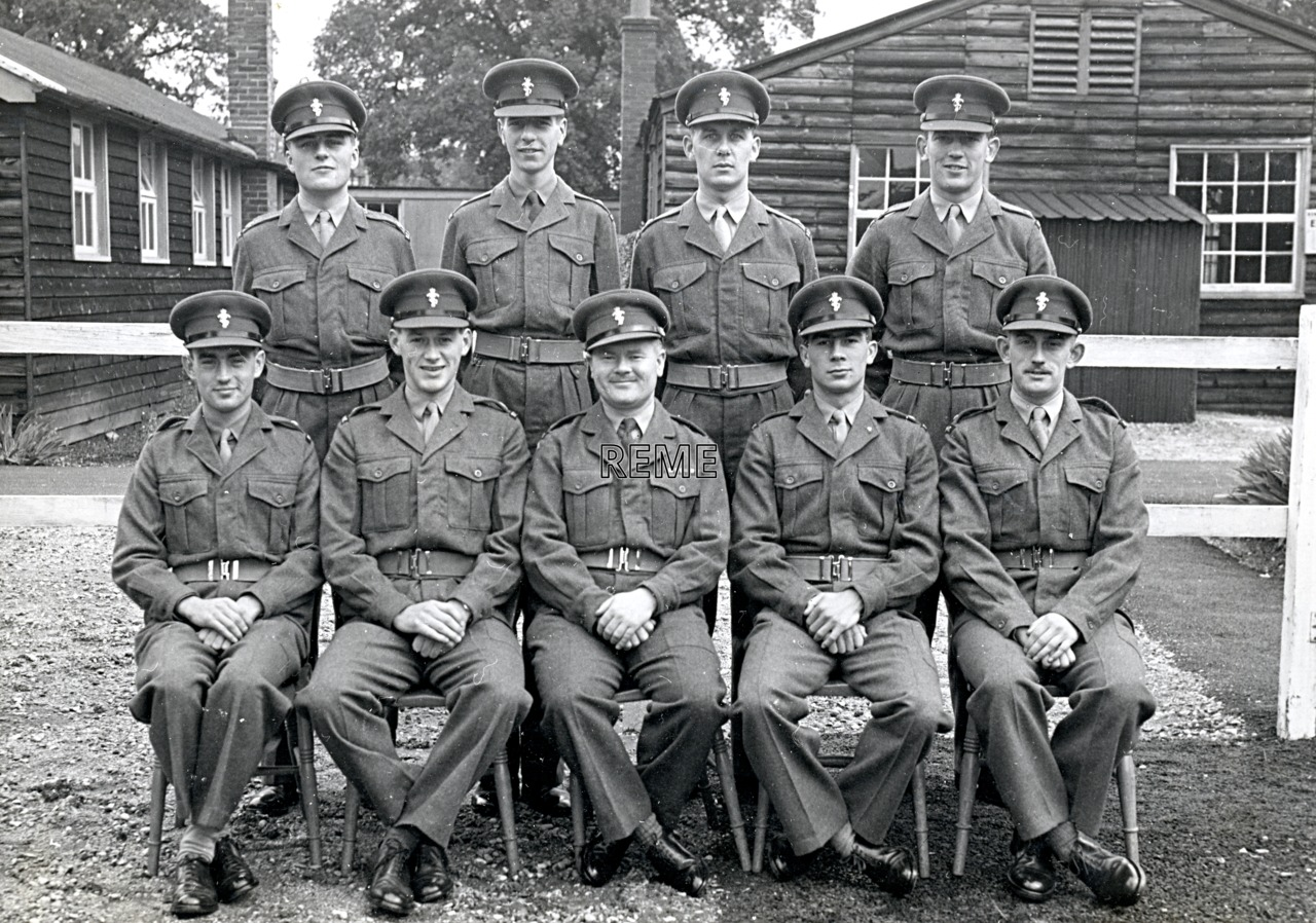 No 18 Regular Young Officers' Course, REME Officers' School, 1956