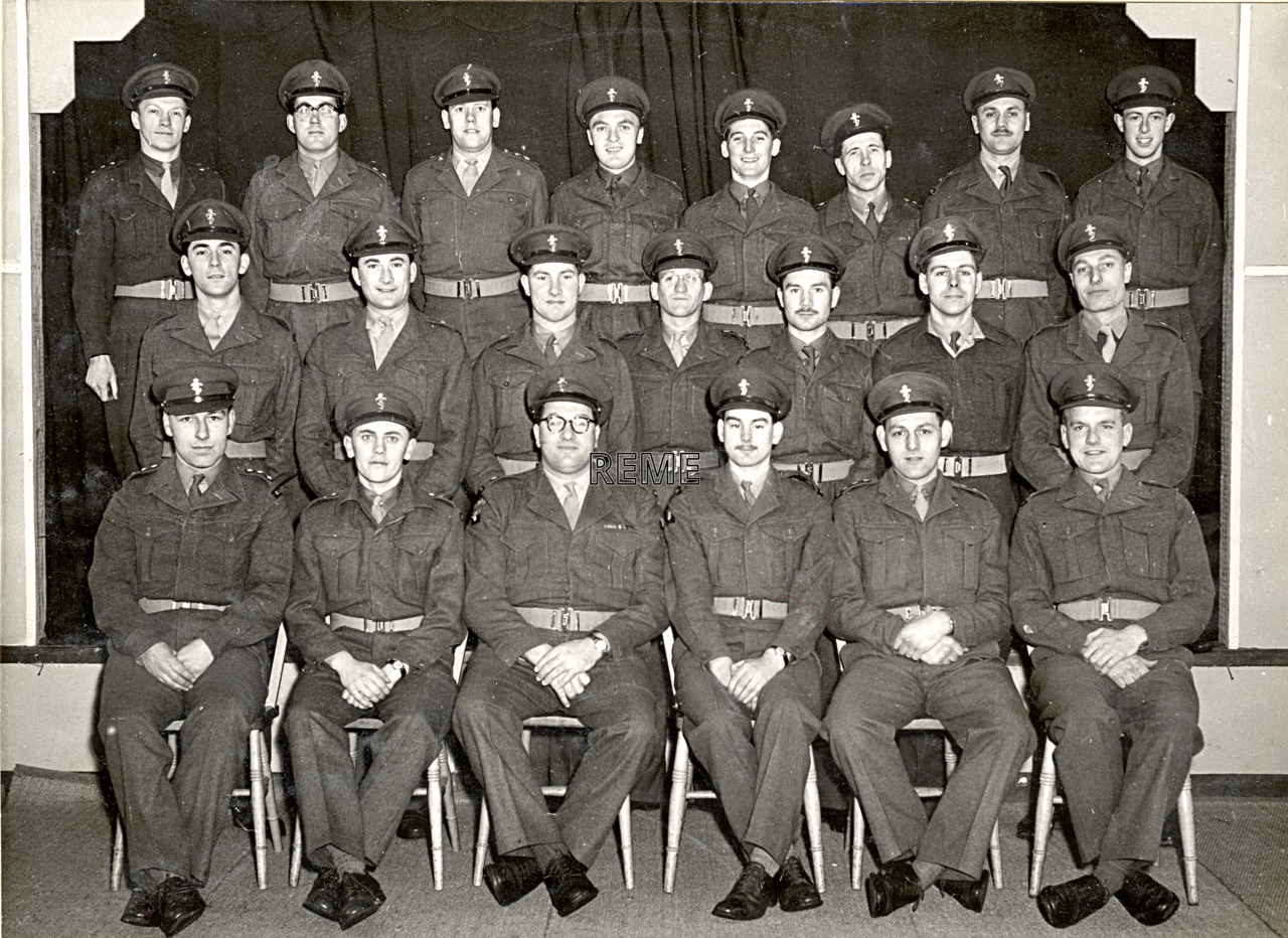 No 1 Regular Young Officers' Refresher Course (Ex Civilian Works), 1955