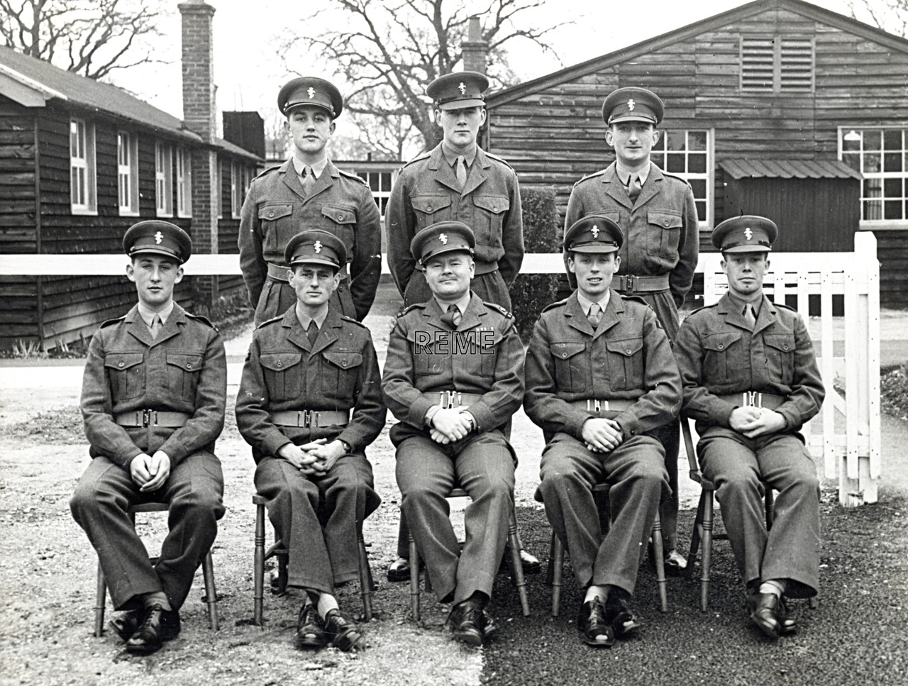 No 19 Regular Young Officers' Course, REME Officers' School, 1957