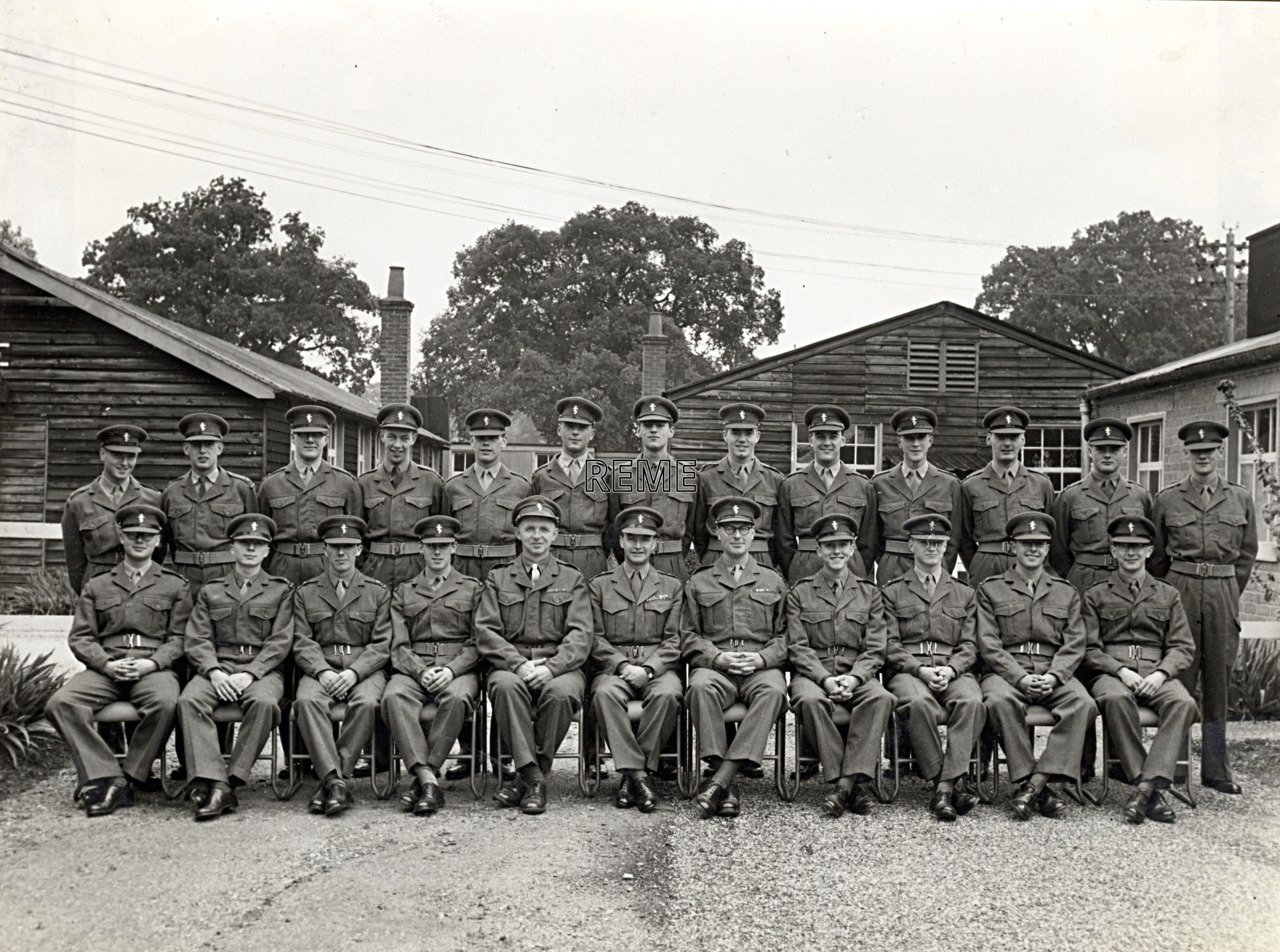 No 20 Regular Young Officers' Course, REME Officers' School, 1957.