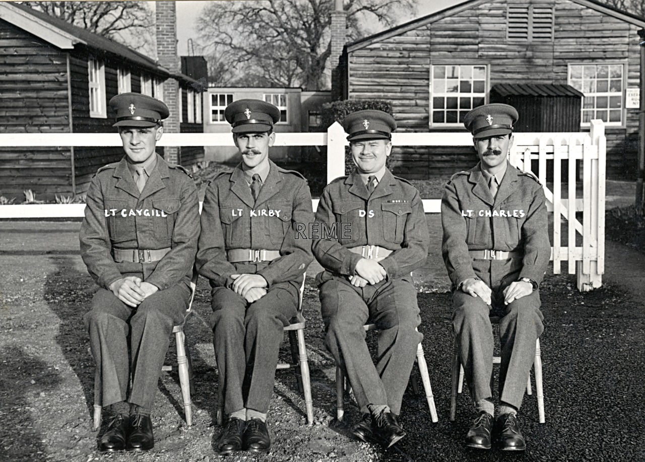 No 3 Regular Officers' Refresher Course, REME Officers' School, c 1957