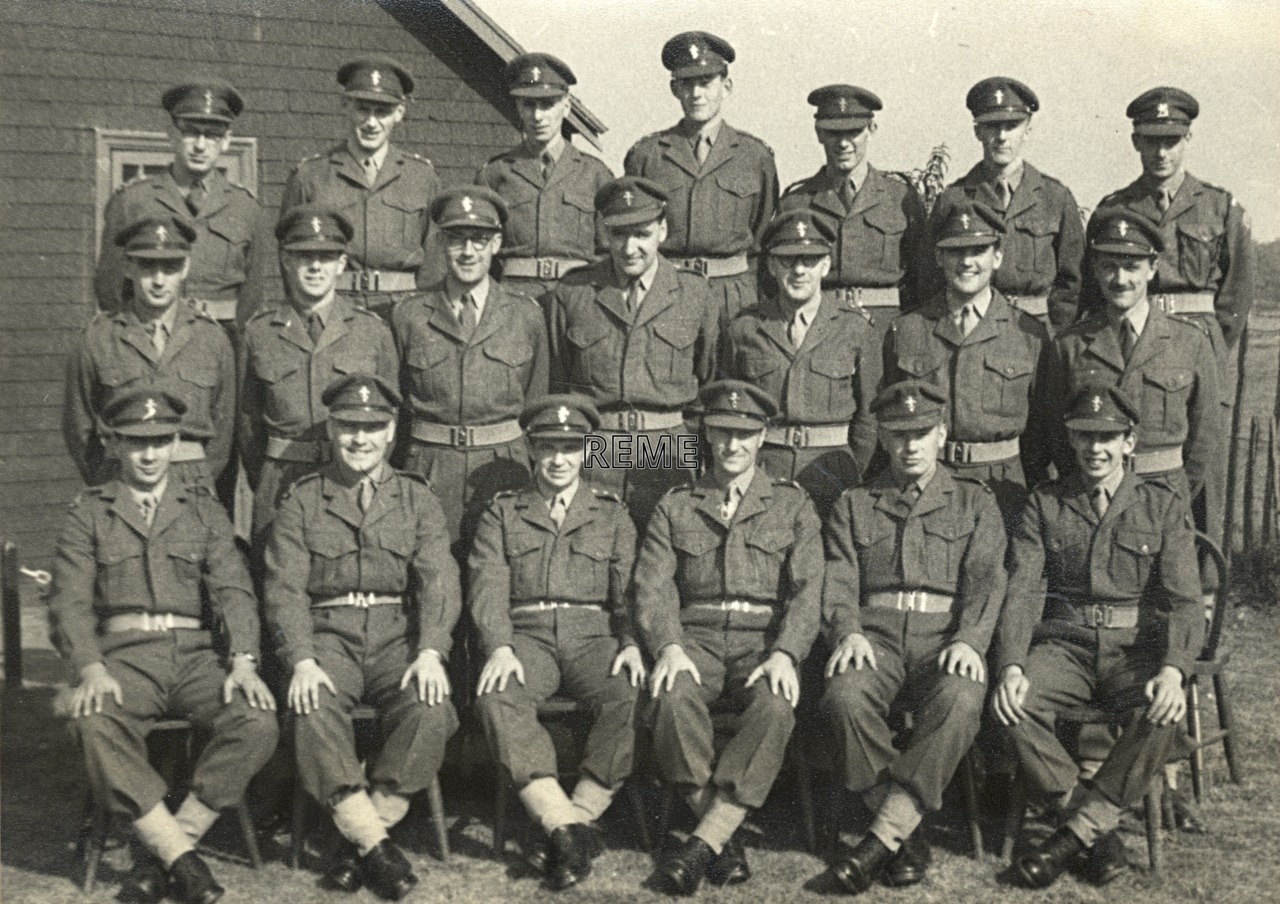 No 6 Regular Officers' Refresher (Workshop Practice) Course, REME Officers' School, 1959 – 1960