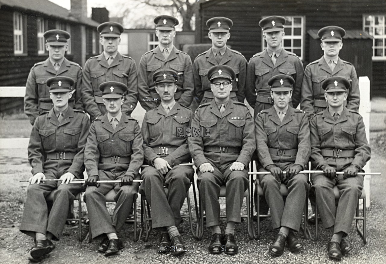 No 22A Regular Young Officers' Course, REME Officers' School, 1959