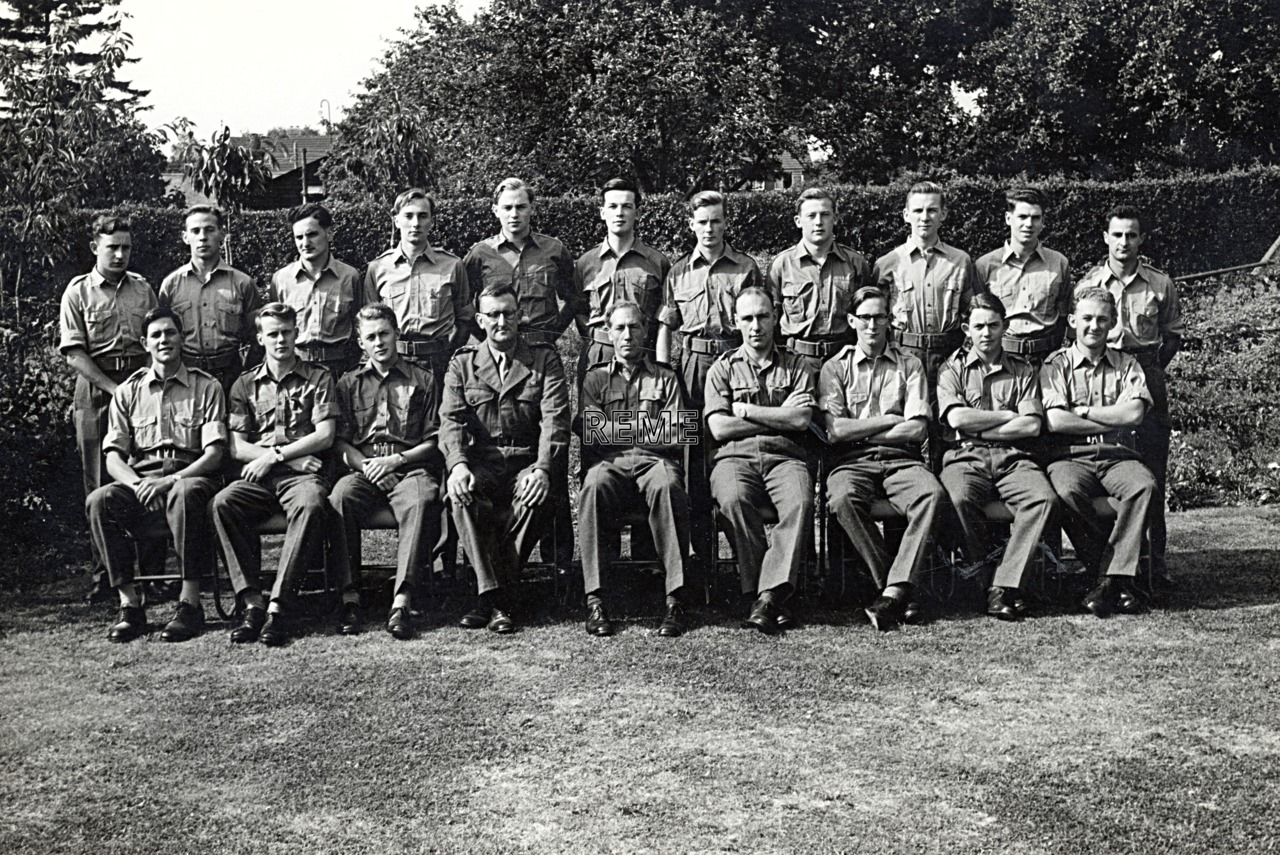 No 23 Regular Young Officers' Course, REME Officers' School, 1959.
