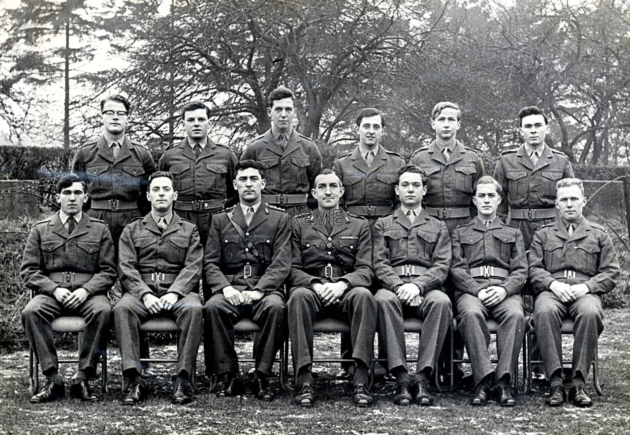 No 24 Regular Young Officers' Course, REME Officers' School, 1960.